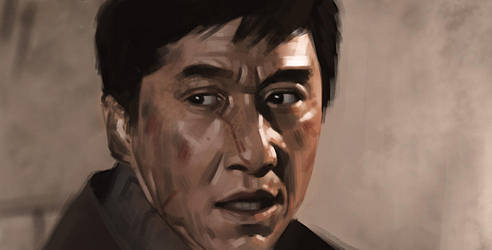 Jackie Chan - Study by Thorsten-Denk