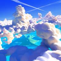 Ocean Clouds by Thorsten-Denk