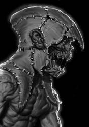 Sketch - Skin Hoodie by Thorsten-Denk