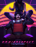 Dr. Disrespect and Mrs. Assassin by Thorsten-Denk