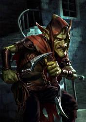 Cutthroat Goblin by Thorsten-Denk