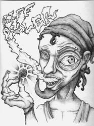 Riff Dealer by LungsmanArt