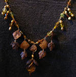 Beads4YouContest Topaz Necklac by DAnnsCreations