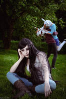 AT - Marceline - not wanted on this party by MilliganVick