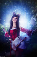 LOL - Ahri - I came for you by MilliganVick