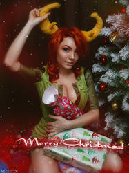 DotA 2 - Christmas - Wind Ranger by MilliganVick
