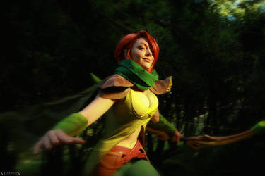 DotA 2 - WindRanger - Feel the wind in your hair! by MilliganVick