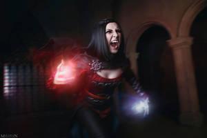 TES: Skyrim - Serana - I'll drain you! by MilliganVick