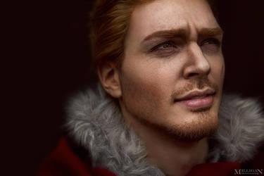 DA:I - Alistair make-up test by MilliganVick