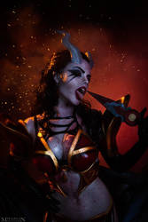 DotA 2 - QoP - You want me? Come get me. by MilliganVick