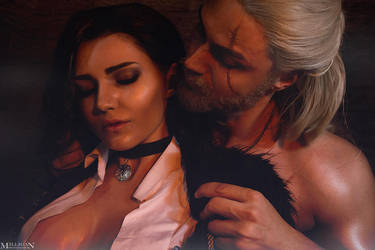 TW:WH - Yennefer and Geralt by MilliganVick