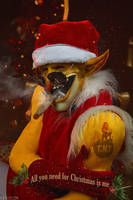 DotA 2 - Techies  - Merry Christmas by MilliganVick