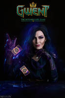 The Witcher - GWENT - Yennefer by MilliganVick