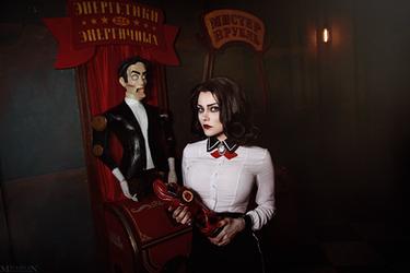BioShock: BaS - Elizabeth by MilliganVick