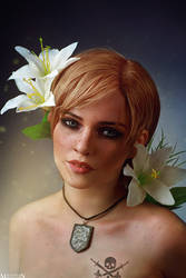 The Witcher - Flower portraits - Ves by MilliganVick