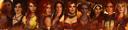 The Witcher - The Lodge of Sorceresses by MilliganVick