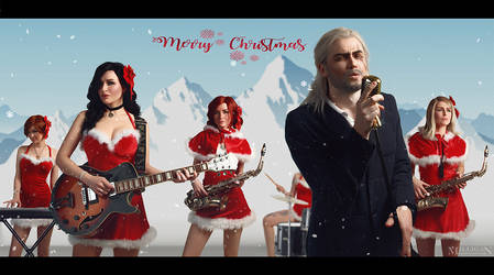 The Witcher - Christmas (Love Actually) by MilliganVick