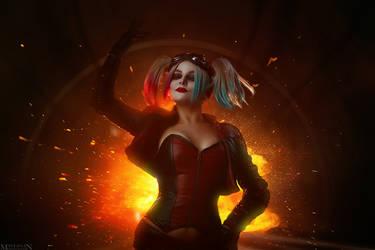 Injustice 2 - Harley Quinn by MilliganVick