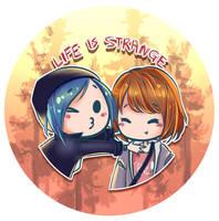 Life is Strange Max and Chloe! by shirosakiHiChi