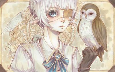 Portrait by amiamalie