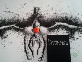 My sketchbook is now my Death Note! by delPuertoSisters