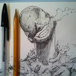 The Red Man! [Deadman Wonderland] by delPuertoSisters
