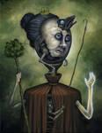 Queen Of Wands by js4853