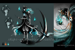 Grim Reaper Adoptable Auction [CLOSED] by skips-adoptables