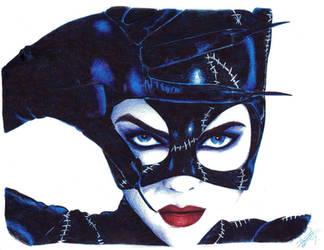 Michelle Pfeiffer - Catwoman by davidgozu