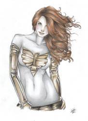 White Phoenix of the Crown by davidgozu