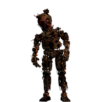 FNAF - Withered/old Springtrap + Video by Christian2099