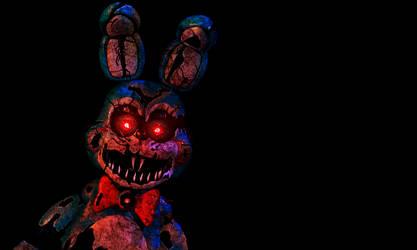 FNAF - Nightmare Toy Bonnie V.2 + Video by Christian2099