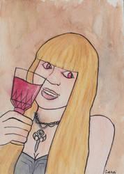 Vampire the Masquerade. Exo Chika (Aural Vampire) by Grizlykenysheep