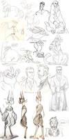 College Doodle Dump 12 by Spockirkcoy