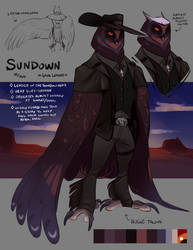 Sundown reference by Spockirkcoy