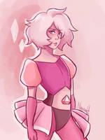 Pink Diamond - Steven Universe by MeowMeowMustache
