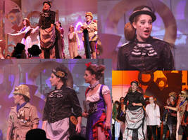 Godspell Costume Action shots by Misguided-Ghost1612
