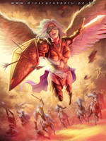 ANGEL OF VICTORY by DIOSCUROS87