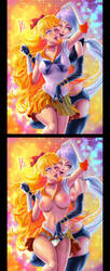 SAILOR VENUSSTAR-HEALER (SailorMoon) by DIOSCUROS87