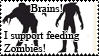 I support feeding zombies by Wa-pie