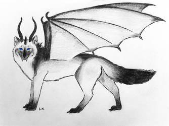 Wolfdragon by Charlotte-Nikki