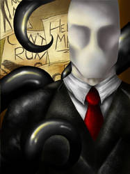 Slender Man by The-Witch-Doctor