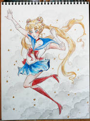Sailor Moon by imsohip
