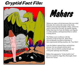 Cryptid Fact File by Bombfetish