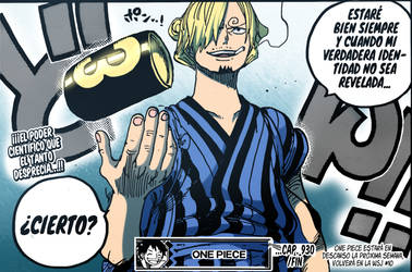 One Piece 930 | Colored by MysteryMysticMist