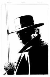 Zorro 4 Cover by mikemayhew