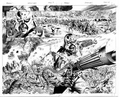 Spawn 179 pages 4and5 pencils by mikemayhew