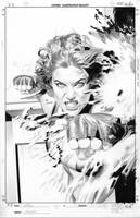 She-Hulk 5 Cover Pencils by mikemayhew