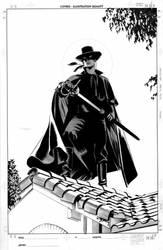 Zorro 2 Cover by mikemayhew