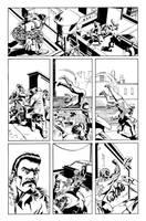 Spidey vs. Kraven Page 3 by mikemayhew